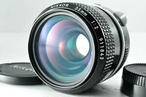 [Near Mint] Nikon NIKKOR 35mm f/2 MF Prime non-ai Lens by DHL from Japan #1036