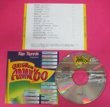 CD Compilation Quei Favolosi Anni'60 1962-2 ADRIANO CELENTANO MINA no lp (C48)