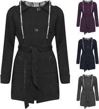 Manteaux et vestes multicolores coton pour femme