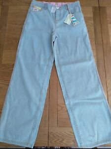 BNWT girls Joules striped jeans. Age 11 - 12 years.       (2/7)