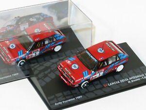 1/43 Lancia Delta Integrale 16V  Martini Rosso  Rally Sanremo 1989  M.Biasion