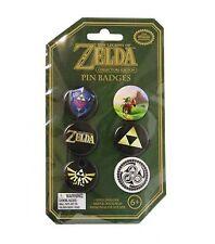Legend of Zelda pack 6 badges