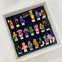 Display Frame for Lego Movie 2 minifigures 71023 no figures 27cm