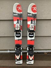*NEW* Rossignol Roc Jr 67cm Youth Skis w/ *USED* Kids Adjustable Jr. Bindings