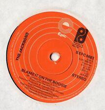 """Los Jacksons-culpa en el Boogie 7"""" solo 1978"""