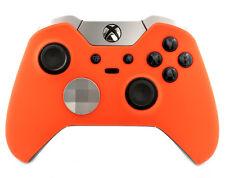 """Soft Touch Orange"" CUSTOM PAINTED Microsoft Xbox One Elite Wireless Controller"