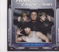 Rob Van Daal ft Ivan-Leef En Geniet cd single