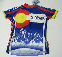 Women's Colorado 1/2 Zip Cycling Jersey New with Tags Small Med Large XL Canari