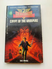 VTG 1986 Golden Dragon Fantasy Gamebook #1 - Crypt of the Vampire - B