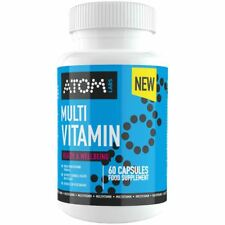 ATOM Multivitamin - Vitamin & Mineral Complex Best Multivitamin For Men & Women