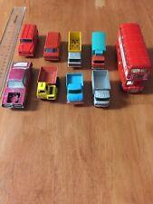 Vintage Matchbox Corgi Lesney Toy Car Lot Bus Unimog Royal Mail Cougar England