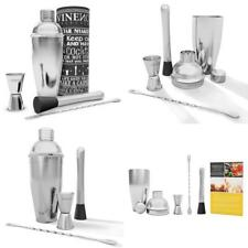Vinenco Cocktail Shaker Set Cocktail Recipes eBook – Premium Stainless Steel Bar COCKT