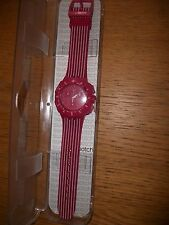 WOMENS  SWATCH  WATCH  PINK RUN CHRONOGRAPH    SUIP401