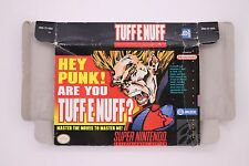 Tuff E Nuff Super Nintendo SNES Box Only