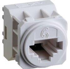 Legrand E-MEC VOICE-SOCKET EMRJ11C3WE Category-3, RJ11 Connection WHITE