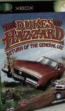 XBOX The Dukes of Hazzard:Return of the General REPLACEMENT MANUAL ONLY(NO GAME)