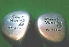 Dura Tour 2W and 3W fairway woods set, 11 and 15 degree lofts