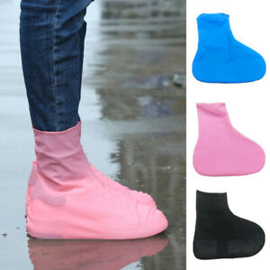 Women's Latex Wear resistant Latex Waterproof Shoes Cover Non Slip Reusable Boot