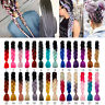 Cool Afro Twist Braids Ombre Synthetic Kanekalon Jumbo Braiding Extension Hair