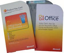 Microsoft OFFICE 2010 Home and Business Vollversion PKC 32+64-bit BOX-Version DE