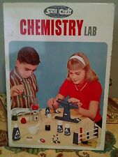 Skil Craft Chemistry Lab Vintage 1965 Chemistry set replacement parts