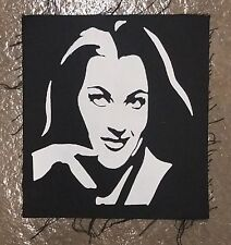 LILY MUNSTER CULT CLASSIC HORROR MOVIE TV FILM  BLACK CANVAS BACK PATCH
