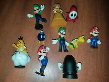 lot of 10 2007 nintendo pvc figures super mario brothers fast free shipping