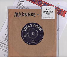 """MADNESS - NW5 - UK 7"""" SINGLE - SUGGS SKA STIFF TWO 2 TONE SPECIALS VINYL NOT CD"""