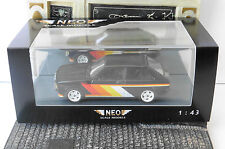 OPEL KADETT C CITY 1978 IRMSCHER BLACK NEO 43069 1/43 SCHWARZ NOIRE RESIN