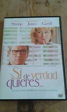 USADO - DVD de la película  SI DE VERDAD QUIERES... - Item For Collectors