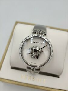 VERSACE Palazzo Luxury White Dial Ladies Watch VCO090017 Swiss Made 1Yr Warranty