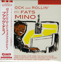 FATS DOMINO-ROCK AND ROLLIN' WITH FATS DOMINO-JAPAN MINI LP CD BONUS TRACK C94