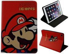 For Apple iPad Mini 1 2 3 4 Super Mario Bros Video Game Stand Smart Case Cover