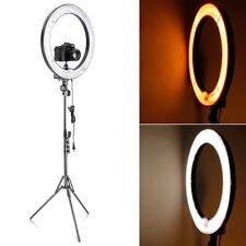 "Neewer Camera 18""Diameter 75W Dimmable Ring Fluorescen Flash Light Kit f Portait"