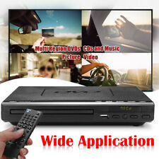 HDMI DVD Player Compact Multi Region ADH CD VCD Music Disc Upscaling USB Remote
