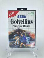 Golvellius Valley of Doom | Sega Master System SMS 1988 | Complete CIB Clean
