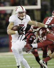 Christian McCaffrey Stanford Cardinal Football Signed 8X10 Photo Rp NFL Draft