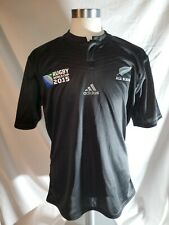 Adidas New Zealand All Blacks Rugby 2015 World Cup Home Jersey Mens XL