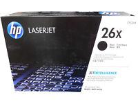 HP CF226X (26X) Hewlett Packard High Yield Black Toner Cartridge Genuine OEM
