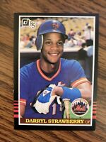 1985  Donruss   #312  Darryl Strawberry New York Mets NrMt