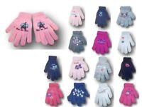 Baby Girls Toddler Children Kids Winter Acrylic ABS Gloves Size 2 to 10 Years
