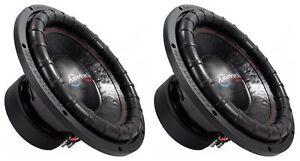 "(2) American Bass ELITE-1544 2400w 15"" Competition Car Subwoofers 3"" Voice Coils"