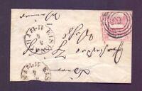 Thurn + Taxis - Umschlag mit 1 Sgr. MiNr. 29 aus Eisenach - Michel 70,00 € (204)