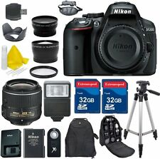 Nikon D5300 24.2 MP CMOS Digital SLR Camera Body + 18-55mm VR II Lens + More!