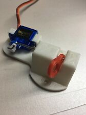 Payload Servo Release.Drones-Airplanes Bait Drop Fishing mechanism. WHITE