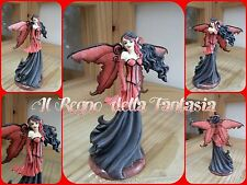 DRAGONSITE FAIRYSITE FAIRY ELFEN FEES FATA GOTH RED BY AMY BROWN NO LES ALPES