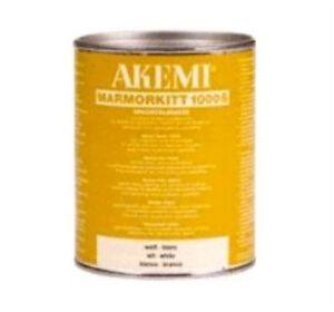 Akemi Epoxy Resin Cream Jura Light 1 Litre Travertine Marble Hole joint Filler
