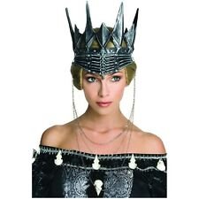 Evil Queen Ravenna Crown Costume Accessory Snow White & The Huntsman Fancy Dress