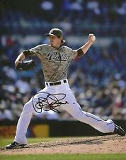 JOSH SPENCE SAN DIEGO PADRES SIGNED AUTOGRAPHED 8x10 PHOTO W/COA ACTION