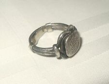 ANTIQUE STERLING SILVER 925 GEORG JENSEN RING MARKED 27A ART NOUVEAU